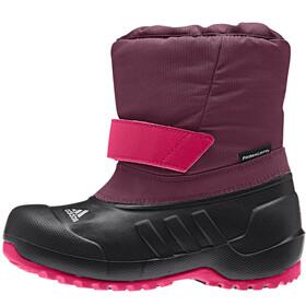 adidas CH Winterfun - Bottes Enfant - rose/noir